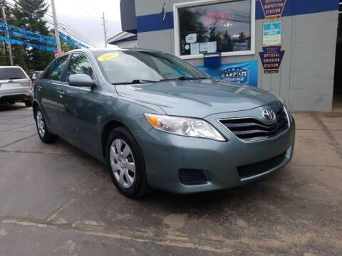 2011 Toyota Camry for sale at Fleetwing Auto Sales in Erie PA