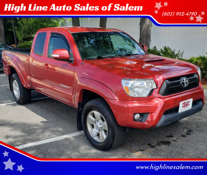 2013 Toyota Tacoma for sale at High Line Auto Sales of Salem in Salem NH