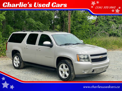 2007 Chevrolet Suburban for sale at Charlie's Used Cars in Thomasville NC