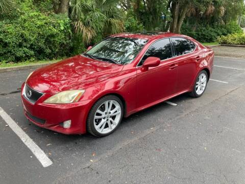 2007 Lexus IS 250 for sale at AUTO IMAGE PLUS in Tampa FL