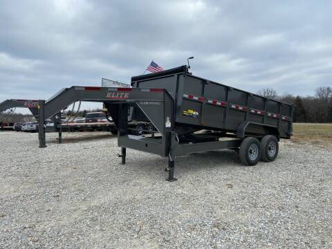 "2021 Elite 83"" x 16' Gooseneck Dump for sale at Ken's Auto Sales & Repairs in New Bloomfield MO"