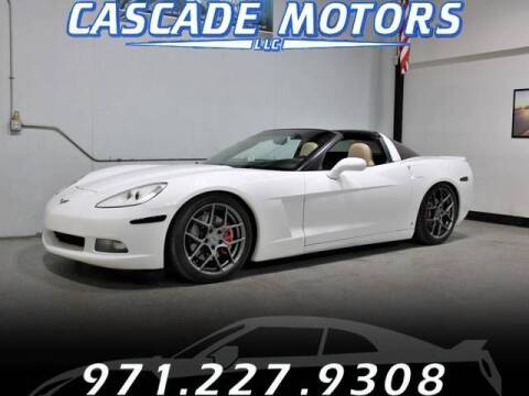 2006 Chevrolet Corvette for sale at Cascade Motors in Portland OR