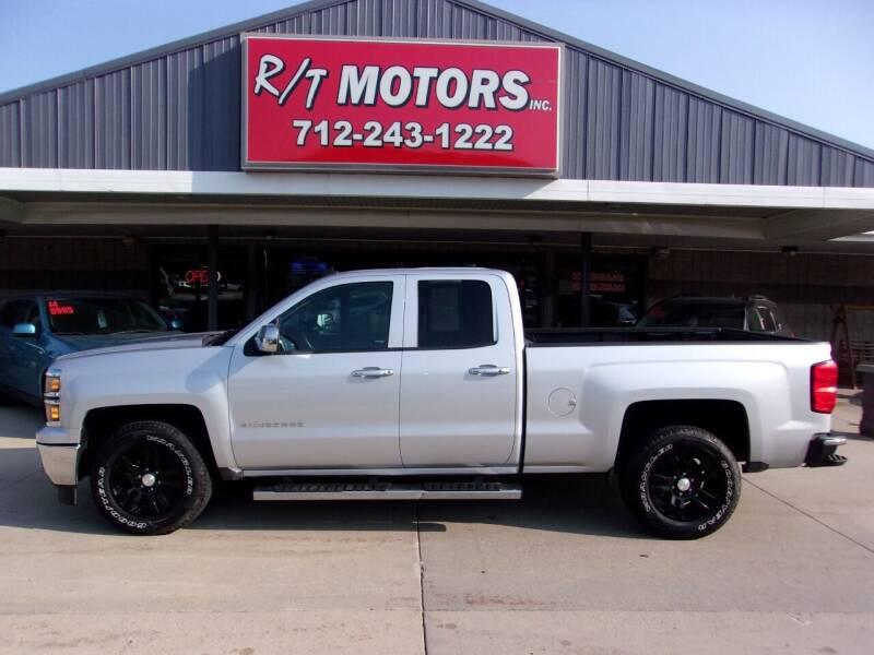 2014 Chevrolet Silverado 1500 for sale at RT Motors Inc in Atlantic IA