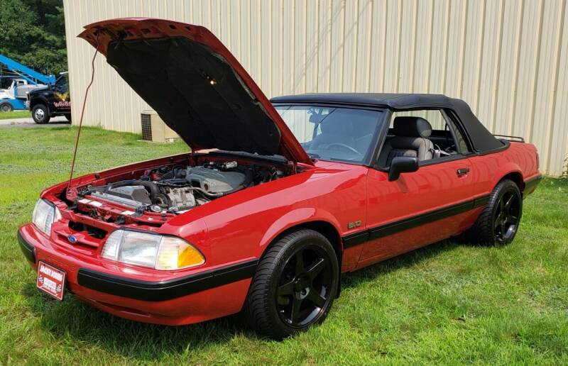 1989 Ford Mustang for sale at MILFORD AUTO SALES INC in Hopedale MA