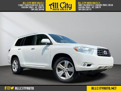2010 Toyota Highlander for sale at All City Auto Sales in Indian Trail NC