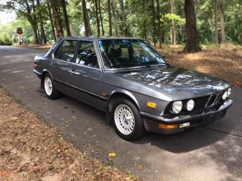 1982 BMW 525i/5 for sale at Roadtrip Carolinas in Greenville SC