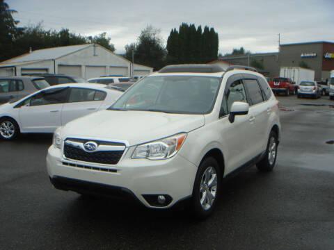 2015 Subaru Forester for sale at Sound Auto Land LLC in Auburn WA