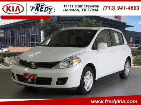 2012 Nissan Versa for sale at FREDYS CARS FOR LESS in Houston TX