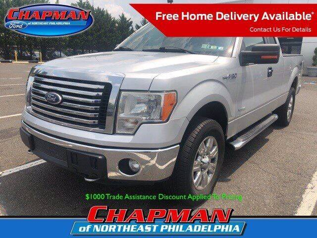 2012 Ford F-150 for sale at CHAPMAN FORD NORTHEAST PHILADELPHIA in Philadelphia PA
