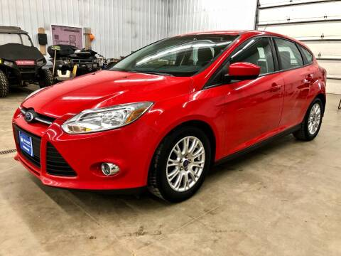2012 Ford Focus for sale at S&J Auto Sales in South Haven MN