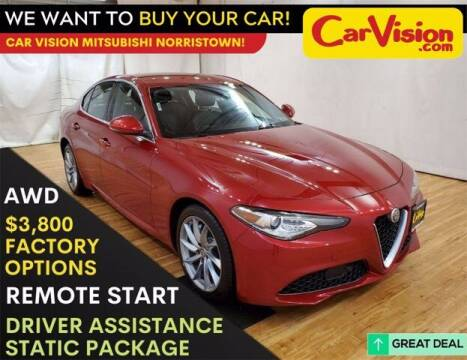 2017 Alfa Romeo Giulia for sale at Car Vision Buying Center in Norristown PA