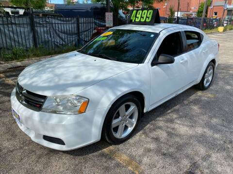 2013 Dodge Avenger for sale at 5 Stars Auto Service and Sales in Chicago IL