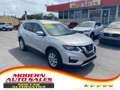 2020 Nissan Rogue for sale at Modern Auto Sales in Hollywood FL
