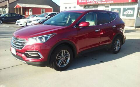 2017 Hyundai Santa Fe Sport for sale at Bob's Garage Auto Sales and Towing in Storm Lake IA