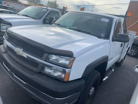 2004 Chevrolet Silverado 2500HD for sale at Trocci's Auto Sales in West Pittsburg PA