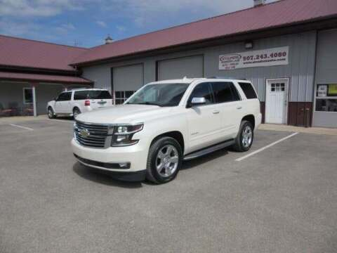 2015 Chevrolet Tahoe for sale at Stoufers Auto Sales, Inc in Madison Lake MN