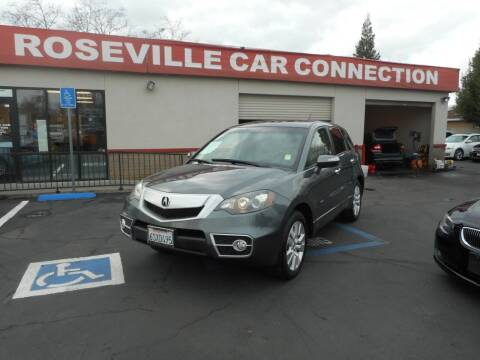 2011 Acura RDX for sale at ROSEVILLE CAR CONNECTION in Roseville CA
