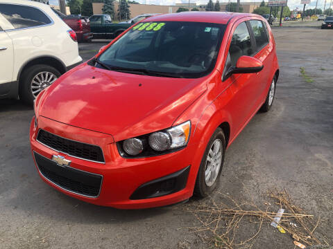 2012 Chevrolet Sonic for sale at D and D All American Financing in Warren MI