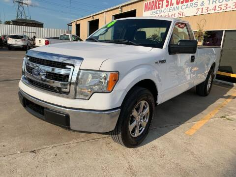 2014 Ford F-150 for sale at Market Street Auto Sales INC in Houston TX