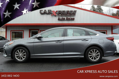2018 Hyundai Sonata for sale at Car Xpress Auto Sales in Pittsburgh PA