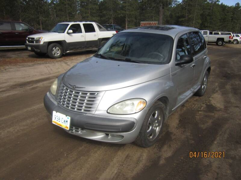 2002 Chrysler PT Cruiser for sale at SUNNYBROOK USED CARS in Menahga MN