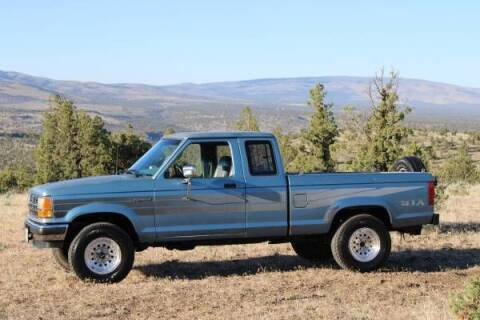 1989 Ford Ranger for sale at Classic Car Deals in Cadillac MI