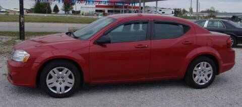 2013 Dodge Avenger for sale at Taylor Car Connection in Sedalia MO