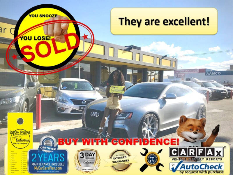 2009 Audi S5 for sale at The Car Company in Las Vegas NV