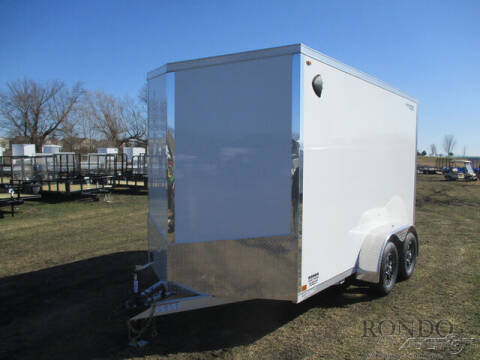 2022 Legend Enclosed Cargo 7X14EVTA35 for sale at Rondo Truck & Trailer in Sycamore IL