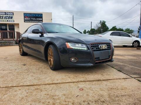2012 Audi A5 for sale at Zora Motors in Houston TX