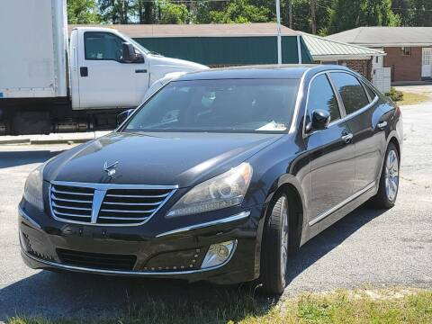 2012 Hyundai Equus for sale at 5 Starr Auto in Conyers GA