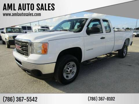 2012 GMC Sierra 2500HD for sale at AML AUTO SALES - Pick-up Trucks in Opa-Locka FL