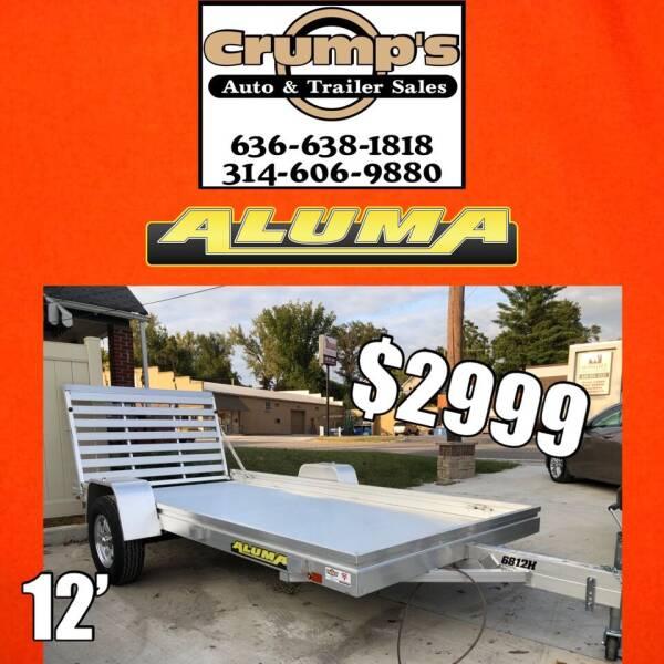 2021 Aluma 12' Utility Trailer for sale at CRUMP'S AUTO & TRAILER SALES in Crystal City MO