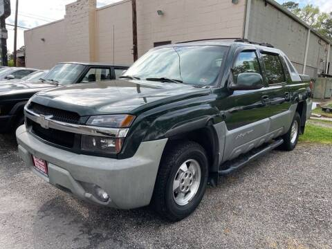 2002 Chevrolet Avalanche for sale at 1st Choice Auto Sales in Newport News VA
