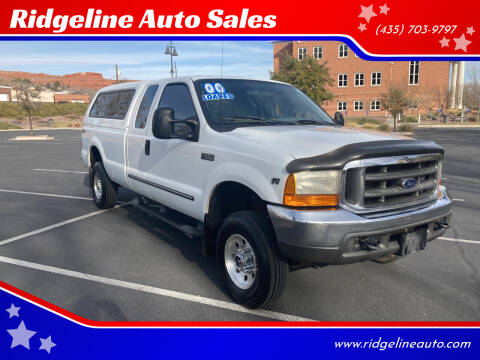 2000 Ford F-250 Super Duty for sale at Ridgeline Auto Sales in Saint George UT