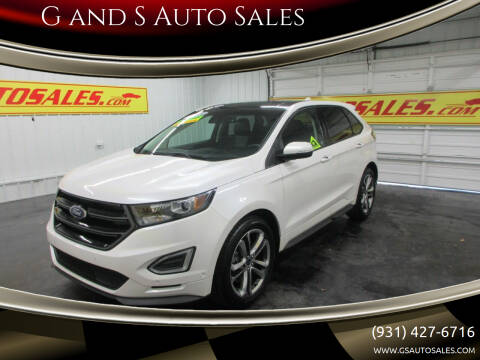 2015 Ford Edge for sale at G and S Auto Sales in Ardmore TN