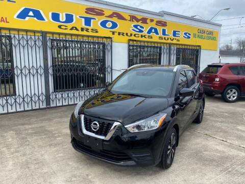 2020 Nissan Kicks for sale at Sam's Auto Sales in Houston TX