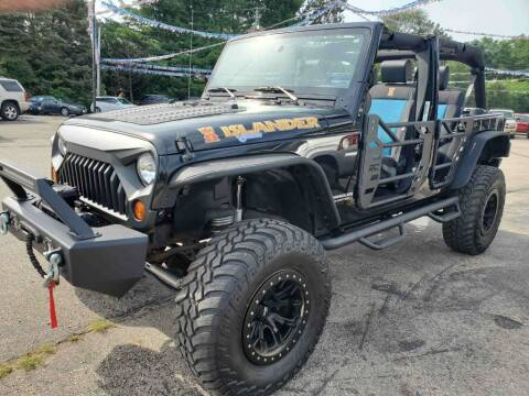 2010 Jeep Wrangler Unlimited for sale at Extreme Auto Sales LLC. in Wautoma WI