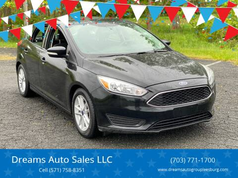 2016 Ford Focus for sale at Dreams Auto Sales LLC in Leesburg VA