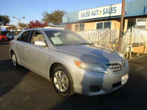 2010 Toyota Camry for sale at Salem Auto Sales in Sacramento CA