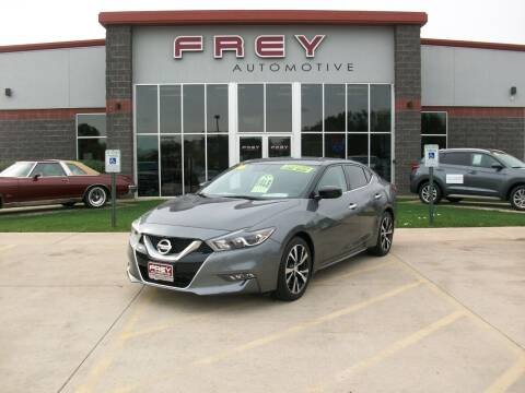 2016 Nissan Maxima for sale at Frey Automotive in Muskego WI