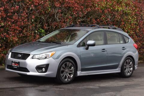 2012 Subaru Impreza for sale at Beaverton Auto Wholesale LLC in Hillsboro OR