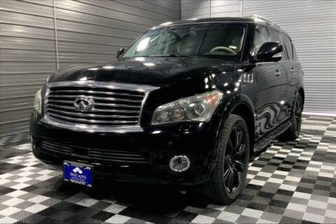 2012 Infiniti QX56 for sale at TRUST AUTO in Sykesville MD