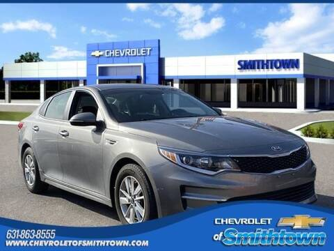 2018 Kia Optima for sale at CHEVROLET OF SMITHTOWN in Saint James NY