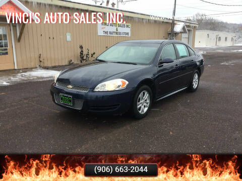 2012 Chevrolet Impala for sale at Vinci's Auto Sales Inc. in Bessemer MI