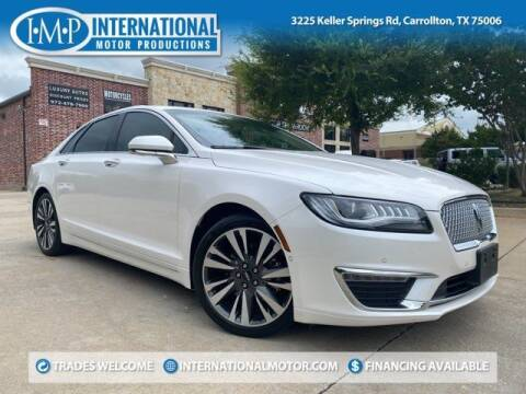 2018 Lincoln MKZ Hybrid for sale at International Motor Productions in Carrollton TX