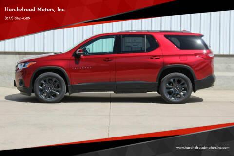 2020 Chevrolet Traverse for sale at Harchelroad Motors, Inc. in Wauneta NE