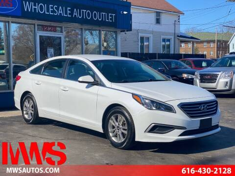 2017 Hyundai Sonata for sale at MWS Wholesale  Auto Outlet in Grand Rapids MI