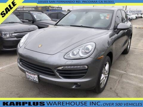 2014 Porsche Cayenne for sale at Karplus Warehouse in Pacoima CA