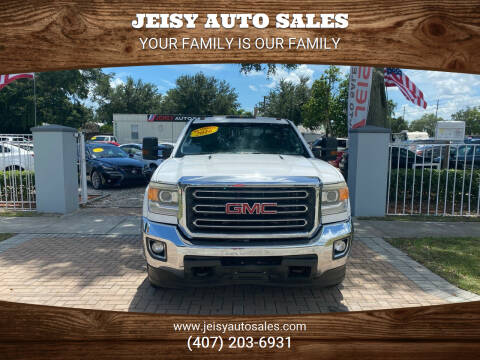 2016 GMC Sierra 3500HD for sale at JEISY AUTO SALES in Orlando FL
